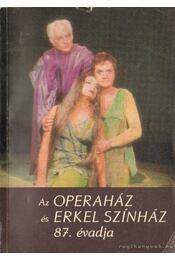 Az Operaház és Erkel Színház 87. évadja - Régikönyvek