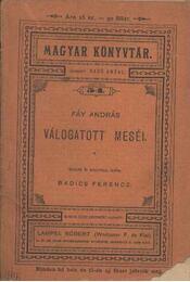Fáy András válogatott meséi - Régikönyvek