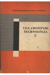 Villamosipari technológia I. - Régikönyvek