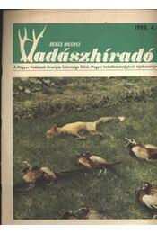 Békés megyei Vadászhíradó 1988/4. - Régikönyvek
