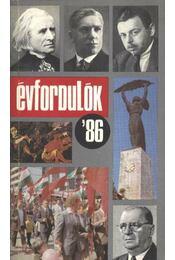 Évfordulók '86 - Régikönyvek