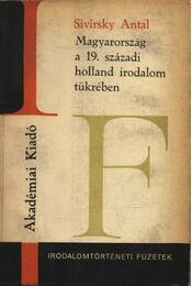 Magyarország a 19. századi holland irodalom tükrében - Régikönyvek