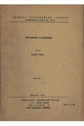 Távvezetékek villámvédelme - Régikönyvek