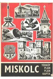 Miskolc térkép - Régikönyvek