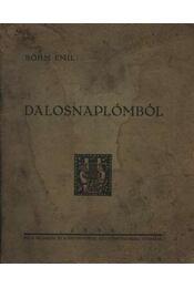 Dalosnaplómból (dedikált) - Régikönyvek