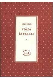 Vörös és fekete I-II. kötet - Régikönyvek
