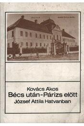 Bécs után - Párizs előtt - Régikönyvek