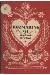 Rozmaring - Régikönyvek