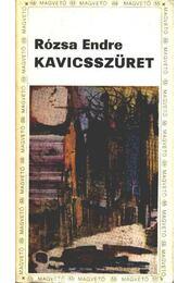 Kavicsszüret - Régikönyvek