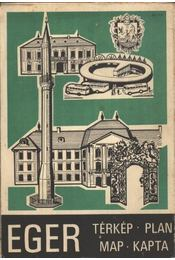 Eger térkép - Régikönyvek
