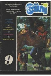 Süni 1986 szeptember II. évf. 9. szám - Régikönyvek