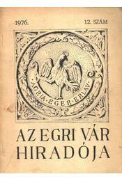 Az Egri vár hiradója 12. - Régikönyvek