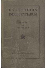 Enchiridion indulgentiarum - Régikönyvek
