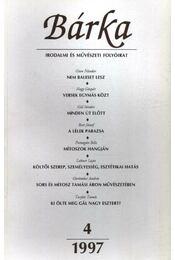 Bárka 1997/4 - Régikönyvek