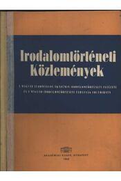 Irodalomtörténeti Közlemények - Régikönyvek