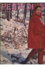 Pesti Divat 1966-67 tél - Régikönyvek