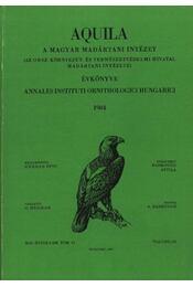 Aquila évkönyv 1984. XCI évfolyam 91. sz. - Régikönyvek