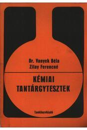 Kémiai tantárgytesztek - Régikönyvek