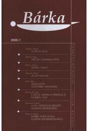 Bárka 2005/1 - Régikönyvek