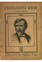 Livingstone Dávid Afrika hőse - Régikönyvek