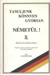 Tanuljunk könnyen gyorsan németül! II. - Régikönyvek