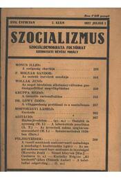 Szocializmus 1927/7. szám - Régikönyvek