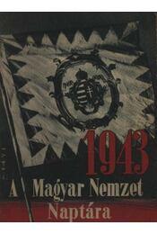 A Magyar Nemzet Naptára 1943. - Régikönyvek