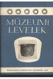 Múzeumi levelek 7-8. sz. - Régikönyvek