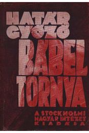 Bábel tornya - Régikönyvek