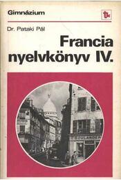 Francia nyelvkönyv IV. - Régikönyvek