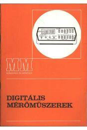 Digitális mérőműszerek - Régikönyvek