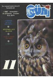 Süni 11. 1987 november - Régikönyvek
