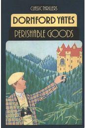 Perishable goods - Régikönyvek
