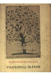 Filozófia írások - Régikönyvek