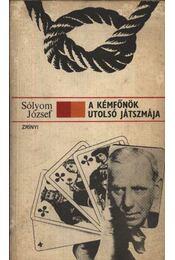 A kémfőnök utolsó játszmája - Régikönyvek