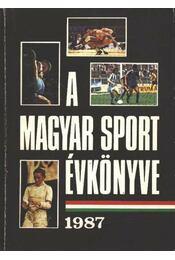 A magyar sport évkönyve 1987 - Régikönyvek
