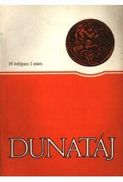 Dunatáj IV. évfolyam 1. szám - Régikönyvek