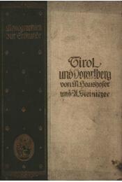Tirol und Vorarlberg von M. Haushofer und U. Steinitzer - Régikönyvek