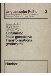 Einführung in die generative Transformationsgrammatik - Régikönyvek