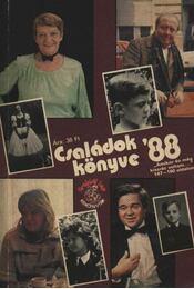 Családok könyve '88. - Régikönyvek