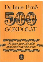 500 gondolat - Régikönyvek
