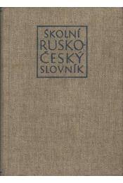 Skolni Rusko-Cesky Slovnik - Régikönyvek