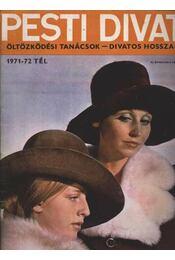 Pesti Divat 1971-72 tél - Régikönyvek