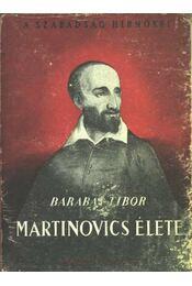 Martinovics élete - Régikönyvek