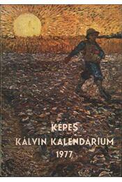 Képes Kálvin Kalendárium 1977 - Régikönyvek