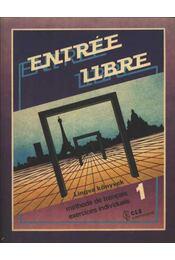 Entrée libre magazine 1 (Tk+mf) - Régikönyvek