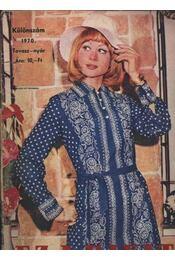 Ez a Divat különszám 1970 Tavasz-nyár - Régikönyvek