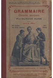 Grammaire Cours moyen - Régikönyvek