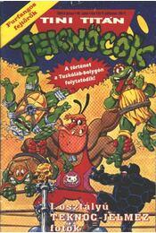 Tini Titán Teknőcök 1994/4. június 30. szám - Régikönyvek