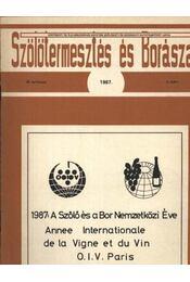 Szőlőtermesztés és borászat 1987 3. szám - Régikönyvek